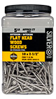 ( SSTX-10300-5 ) 10 x 3-inch Silver Star Star Drive Stainless Steel Wood Screws / 340 ct 5lb Jar