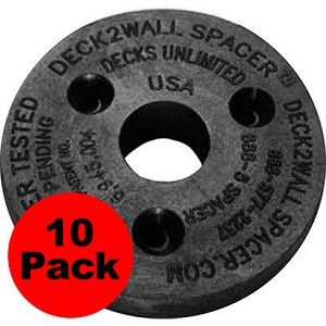 "(D2W-10PK) Deck2Wall Spacer 2 1/2"" - 10PK"