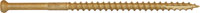 Bronze Star Finish Head Star Drive Screws