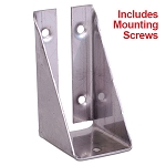 (RL316SS)  316 Stainless RailLok Bracket ( Includes 5 Star Drive Screws)