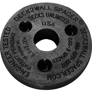 "(D2W)  Deck2Wall Spacer 2 1/2"" - ea"